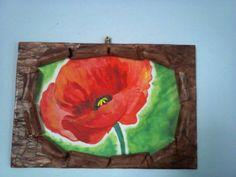 pictura acrilic decorata handmade