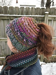 From my hook to yours, the Messy Bun Ponytail Hat!