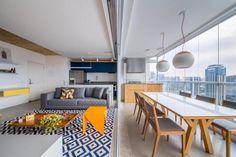 Apartamento de 60 metros quadrados com um toque modernista - Casa & Cia - Zero Hora - Casa & Cia: Vida e Estilo - Zero Hora