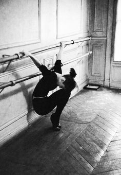 Audrey Hepburn rehearsing forFunny Face - Paris 1956 - David Seymour.