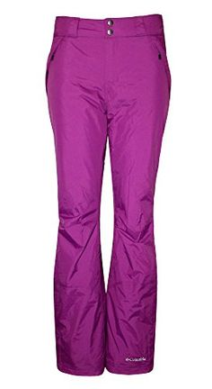 Columbia Womens Polar Eclipse Insulated Ski Pants Medium Raspberry *** Read more reviews of the product by visiting the link on the image. (This is an affiliate link)