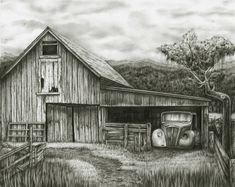 old barns - Google Search