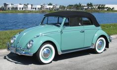 1962 Volkswagen Beetle - my first car was a 1964 Candied Apple Red VW ragtop. My favorite car, hands down!