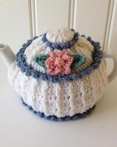 Watch Our Garden Tea Cozies Crochet Pattern Product Review: Skill: Easy Materials: Worsted Weight Yarn Size: 6-8 cup teapot; 4-6 cup teapot These two tea cozies are sure to perk up your morning! Few t