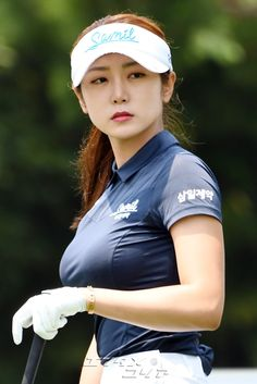Girls Golf, Ladies Golf, Golf Fashion, Sport Fashion, Michelle Wie, Golf Player, Sporty Girls, Lpga Golf, Edgy Outfits