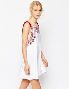 ASOS+Embroidered+Swing+Sundress+With+Rope+Straps