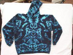 Electric Night Tie Dye Hoodie Size XL by tiedyetodd on Etsy Tie Dye Shirts, Tie Dye Sweatshirt, Boys Hoodies, Hooded Sweatshirts, Tie Dye Rainbow, Tie Dye Fashion, Cotton Fleece, Tye Dye, Hippy