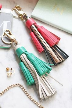 Instant Style Update | The Tassel Keyring