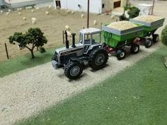 1/64 WHITE 160 FWD Chevy Diesel Trucks, Toy Display, Farm Toys, Mini Farm, Case Ih, Hobby Farms, Farm Gardens, Cool Toys, Tractors