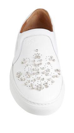 Givenchy Crystal-Embellished Slip-On Sneaker, $650 at Barneys