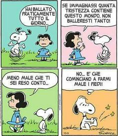 Snoopy e il 'ballo'