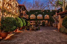 Tlaquepaque Village by Mark Myhaver Mediterranean Garden, Southwest Style, The World's Greatest, Fine Art Photography, Fine Art America, Old Things, The Incredibles, Mansions, Architecture