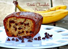 Dark Chocolate Banana Bread - so deliciously good. Always the perfect excuse when you have left-over Bananas. Enjoy! #chocolatebananabread   #luvfood   #manilaspoon