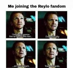 Me at first honestly<<< same but then TLJ happened and now I'm  EMPOWERED