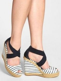 high-heeled Espadrilles, summer hit!