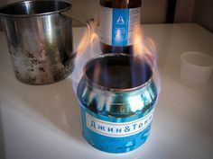 How To Turn A Beer Can Into The Only Camping Stove You'll Ever Need. Fun, simple, cheap, effective. Plus you need to drink a beer!