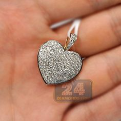 CS-DB Jewelry Silver 1.3ct Princess-Cut Wedding Chain Charm Pendants Necklaces