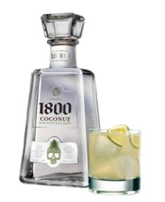 ❥ 1800 Coconut Agave Tequila + Jose Cuervo Margarita Mixer = Best margarita on the planet. :}