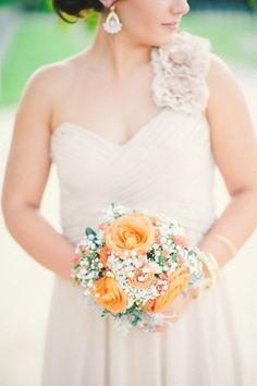 Rustic glamour wedding inspiration, via Aphrodite's Wedding Blog