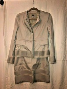 9fed4f1b2cd Burberry Vintage Ladies 2 piece suit Jacket   Skirt  fashion  clothing   shoes
