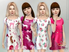 The Sims Resource: Sleepwear Collection GP01 by lillka • Sims 4 Downloads