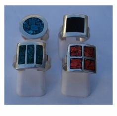 anillo con piedras anillo plata 925,piedras, calado y soldado,reconstituido