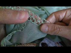 Aynur Şimşek İğne Oyası 2. Video - YouTube Cross Stitch Embroidery, Tatting, Needlework, Knots, Beading, Ribbon, Crochet, Lace, Bracelets