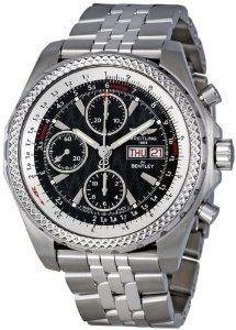 Breitling Bentley GT Racing Black Dial Chronograph Automatic Mens Watch A1336313-B960SS
