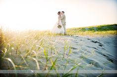 { Image taken by MoscaPhoto } A beautiful Oregon beach wedding preview! Image taken by MoscaPhoto