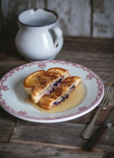 My—very gourmet—recipe definitely brings French toast to the next level, and I am pretty proud of it! Savory Breakfast, Sweet Breakfast, Breakfast Dessert, Breakfast For Kids, Breakfast Recipes, Waffle Recipes, Gourmet Recipes, Cooking Recipes, Crepes And Waffles