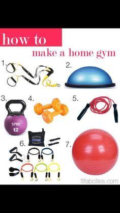 Home gym...