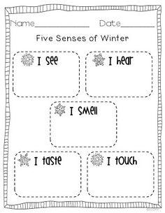 Miss Kindergarten: Gearing up for Winter