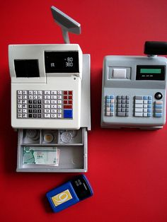 re-ment cash register & Mimo cash register | Flickr - Photo Sharing!