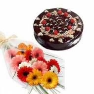 Flower with cake to Pune delivery. Here you can find all types of flower gifts to Pune delivery.  See more gifts : www.puneflowersdelivery.com/flowers/flowers-on-promotions.html