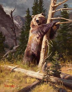 (disambiguation) An artist is a person engaged in creating art or practicing the arts. Artist or artists or The Artist or Artiste may also refer to: Bear Paintings, Wildlife Paintings, Wildlife Art, Bear Pictures, Animal Pictures, Wild Life, Landscape Photos, Landscape Art, Bear Drawing