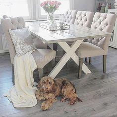 Krzesło tapicerowane pikowane chesterfild styl francuski prowansalski shabby chic SALLY