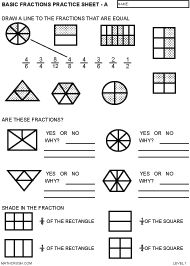 math worksheet : fractions worksheets for 3th graders  fractions worksheets  : Identifying Fractions Worksheet