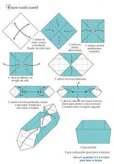 Feito à mão por Regina: Caixas em origami - Origami boxes