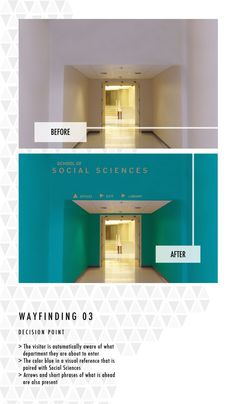 Wayfinding System by Claire Daisey, via Behance