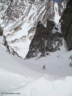 Bootpacking to ski Kit Carson.