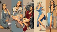 Following on from the viral-smash that saw Game of Thrones characters styled in 80s and 90s fashion and their equally impressive Disneyfied versions, comes a brand new illustrated series from artist Andrew Tarusov.   The Russian illustrator and animator has just posted a new series featuring the ...