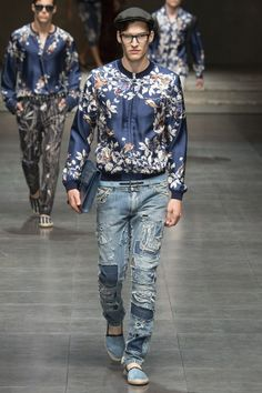 withoutstereotypes - Dolce & Gabbana SS 2016 menswear