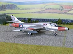 Corgi Aviation Hawker Hunter T.7-229 OCU, 234 Sqn RAF Chivenor, early 1960s AA32712 http://modelcorner.co.uk/