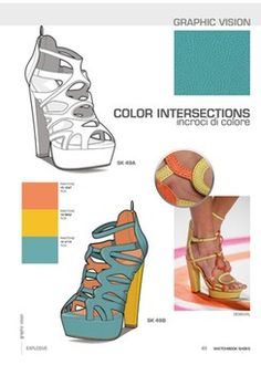 Close-Up Sketchbook Woman - Shoes 15 - S/S 2015