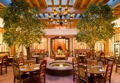 La Fonda Hotel, Santa Fe:  La Plazuela began as our original 1920's patio; it is one of Santa Fe's favorite restaurants featuring authentic New Mexican cuisine