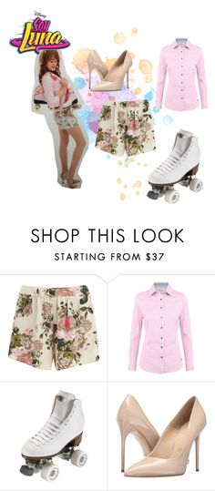 """soy luna"" by maria-look on Polyvore featuring VILA, DUBARRY, Riedell and Massimo Matteo"