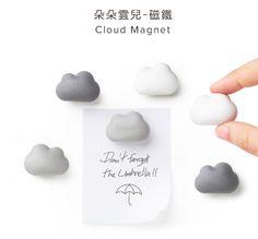 Zakka雜貨網: 朵朵雲兒-磁鐵 / 設計文創購物網站 / 創意禮品集散地