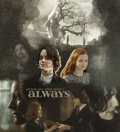 Snape & Lily <<<< excuse me while I go cry in the corner
