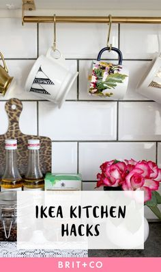 17 IKEA Hacks That Will *Totally* Revamp Your Kitchen via Brit + Co