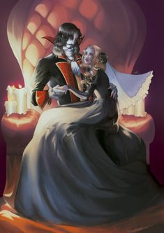 Dracula and Lisa (Castlevania), Silvia Vigorós Castlevania Dracula, Alucard Castlevania, Castlevania Netflix, Castlevania Lord Of Shadow, Male Vampire, Vampire Love, Elves Fantasy, Fairytale Art, Anime Kiss